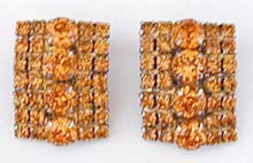 Newly Added Topaz Rhinestone Earrings