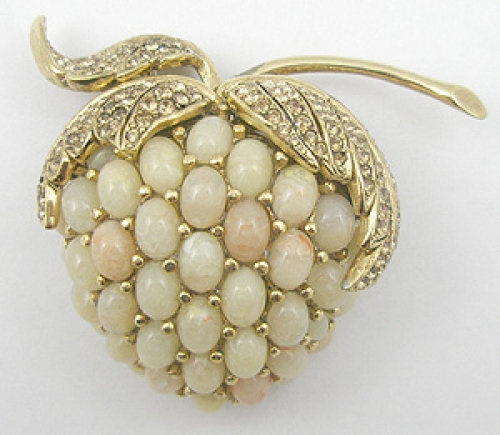 Newly Added Ciner Fruit Brooch