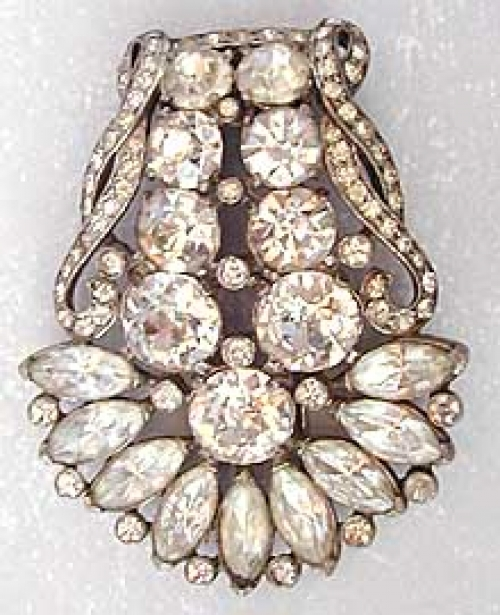 Newly Added Eisenberg Original Rhinestone Fur Clip