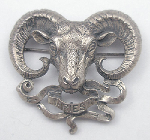 Newly Added Cini Aries Brooch