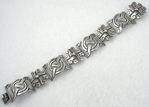 Newly Added Signed Taxco Sterling Bracelet