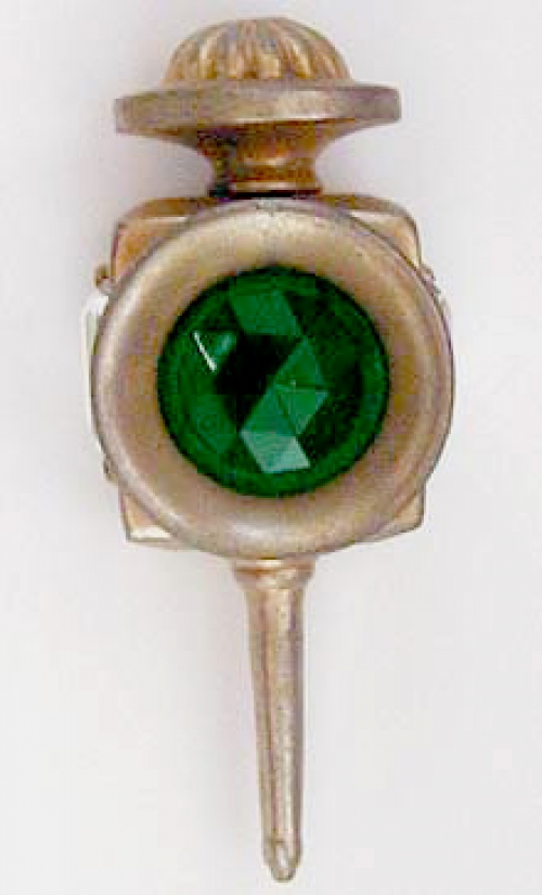 Newly Added Hattie Carnegie Lantern Fur Clip