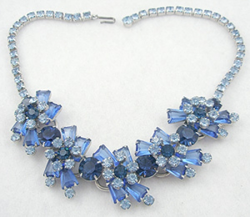 Newly Added DeLizza & Elster Blue Keystone Necklace