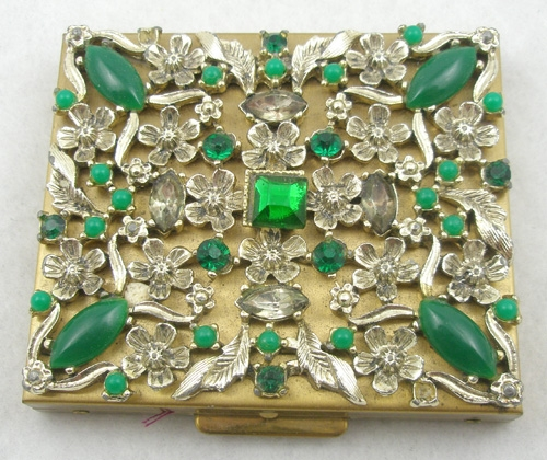 Newly Added S.F. Co Fifth Avenue Rhinestone Compact
