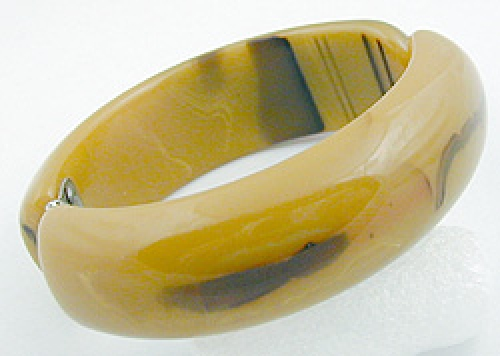 Newly Added Mississippi Mud Bakelite Bangle