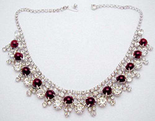 Newly Added Hattie Carnegie Rhinestone Necklace