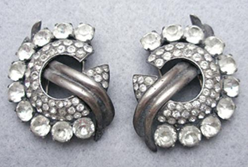 Newly Added Eisenberg Sterling Fur Clip Pair