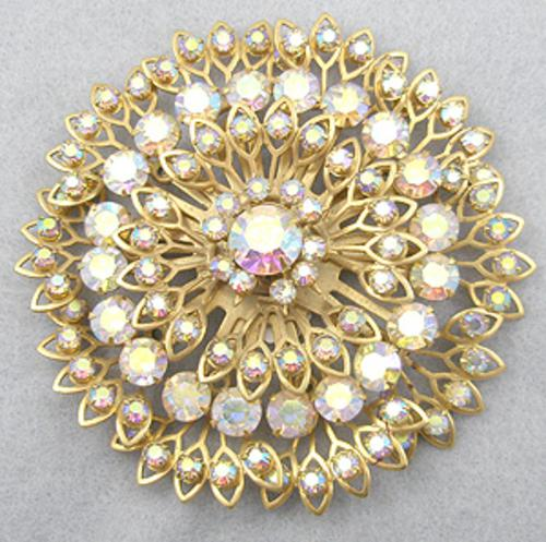 Newly Added Aurora Rhinestone Brooch