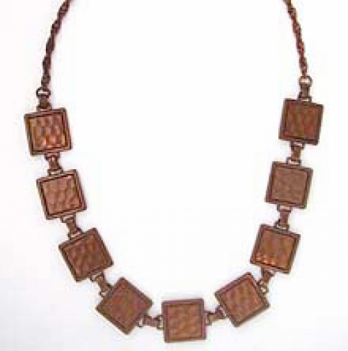 Newly Added Rebajes Copper Necklace