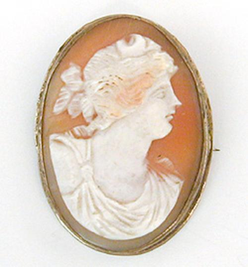 Newly Added Victorian Goddess Diana Shell Cameo