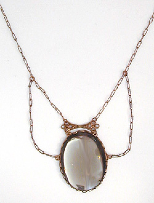 Newly Added Smoky Quartz Necklace