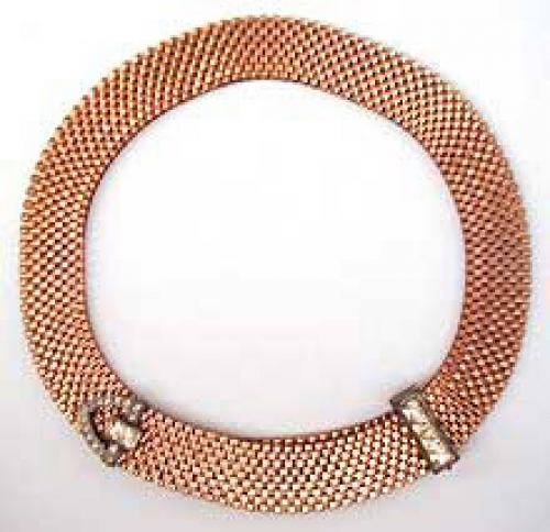 Newly Added Lisner Gold Mesh Necklace