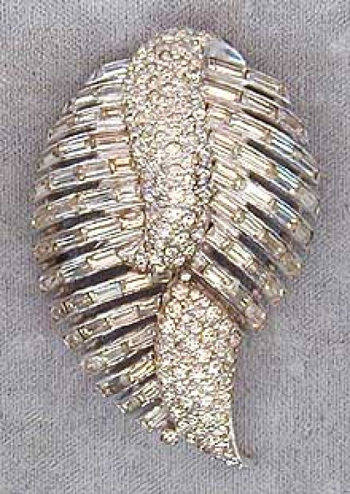 Newly Added Jomaz Rhinestone Brooch