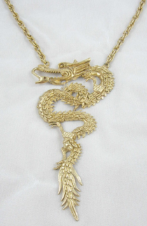 Newly Added Chinese Dragon Necklace
