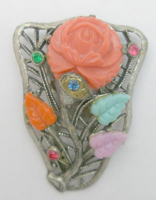Newly Added Molded Glass Dress Clip