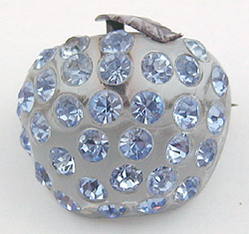 Newly Added Forbidden Fruit Blue Apple Brooch