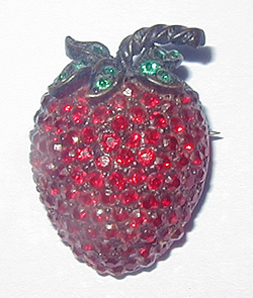 Newly Added Weiss Strawberry Brooch