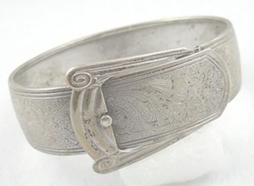 Newly Added Marsh Sterling Buckle Bracelet