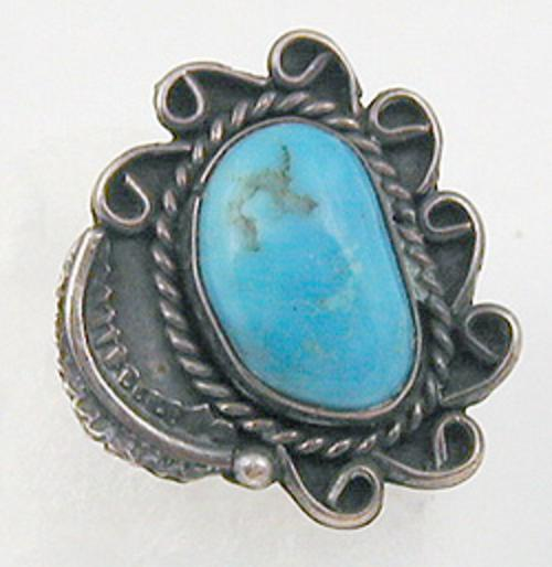 Newly Added Navajo Turquoise Ring