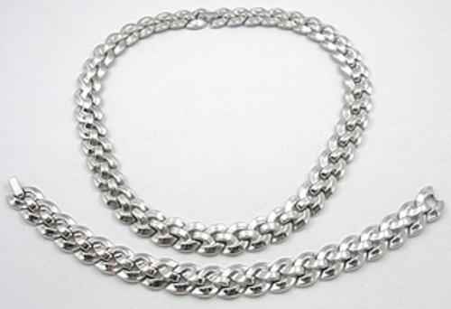 Newly Added Trifari Braided Chain Set