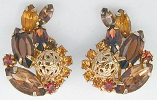 Newly Added Alice Caviness Topaz Earrings