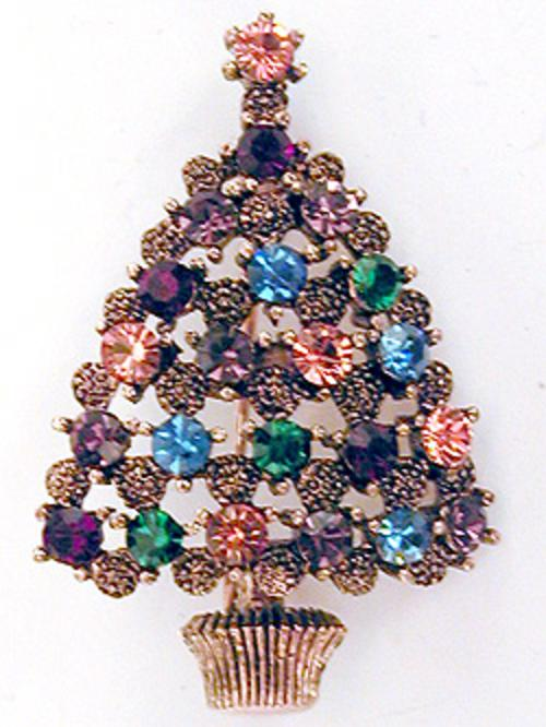 Newly Added Eisenberg Ice Christmas Tree Brooch