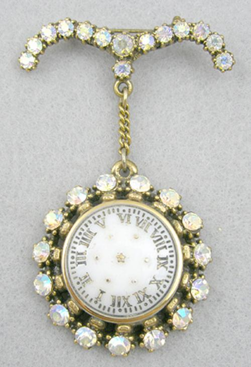 Newly Added B.Blumenthal Watch Brooch