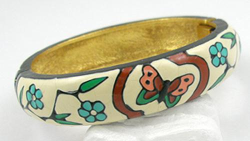 Newly Added Eisenberg Enameled Bracelet