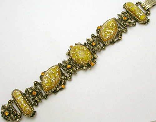 Newly Added Selro Yellow Confetti Bracelet