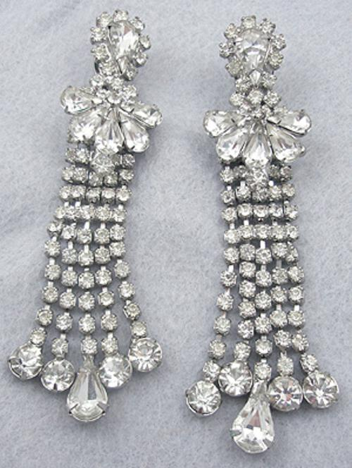 Newly Added Rhinestone Chandelier Earrings