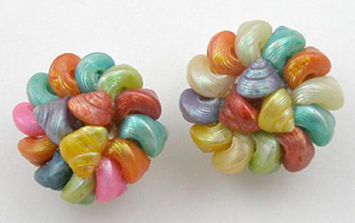 Newly Added Italian Colorful Seashell Earrings