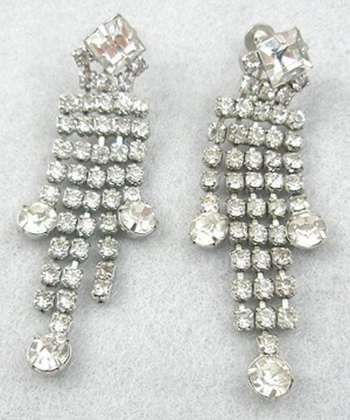 Newly Added Rhinestone Dangle Earrings