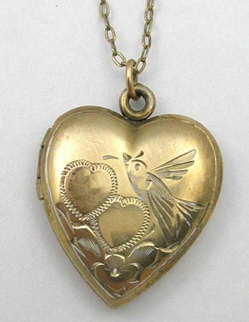 Newly Added Gold Filled Heart Locket