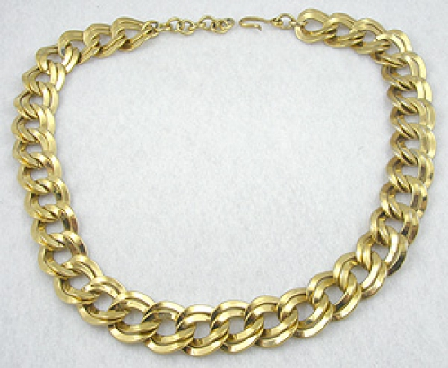 Newly Added Monet Gold Chain Necklace