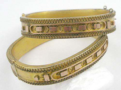 Newly Added Victorian Matching Bride's Bracelets