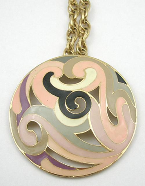 Newly Added Eisenberg Enamel Pendant