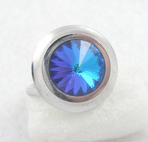 Newly Added Sarah Coventry Liquid Lights Ring
