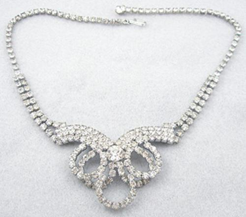 Newly Added Vintage Rhinestone Necklace