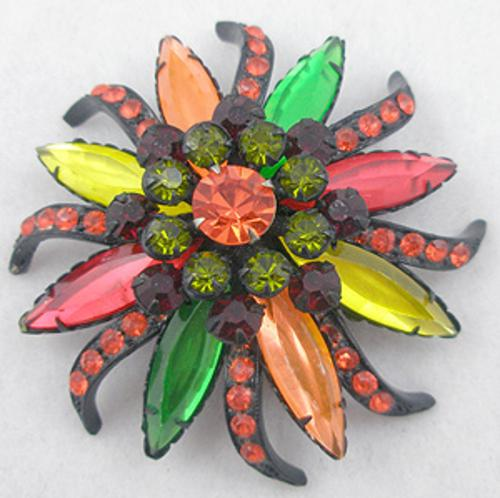 Newly Added Colorful Japanned Brooch