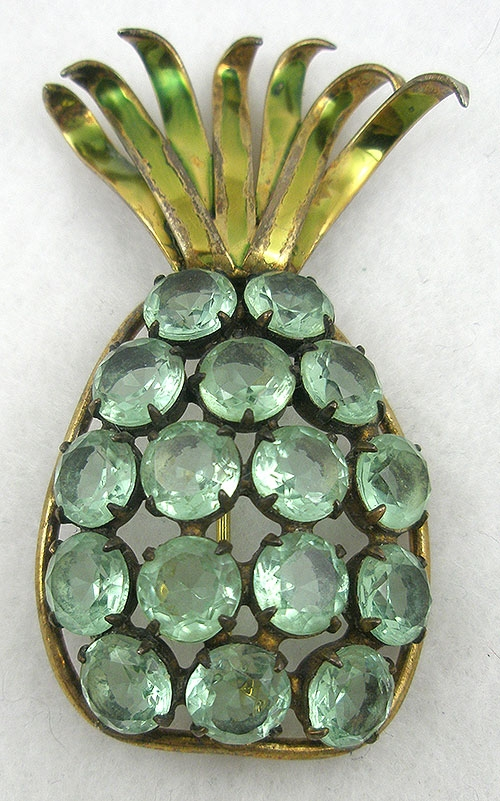 Newly Added Jolle Sterling Pineapple Brooch