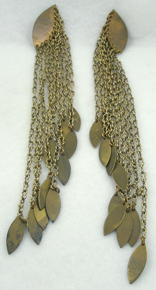 Newly Added Marjorie Baer Long Chains Earrings