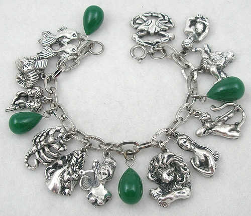 Newly Added Tortolani Zodiac Charm Bracelet