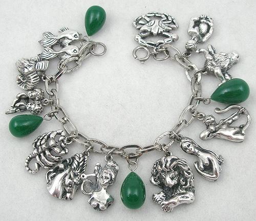 Zodiac Charm Bracelet: Tortolani Zodiac Charm Bracelet