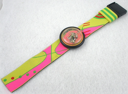 Newly Added 1989 Winner Circle Swatch Pop Watch
