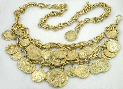 Newly Added Double Gold Coin Belt