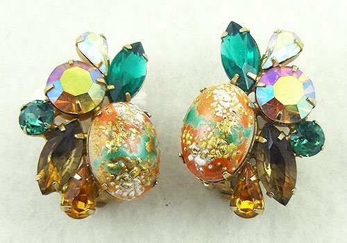 Newly Added DeLizza & Elster Easter Egg Earrings