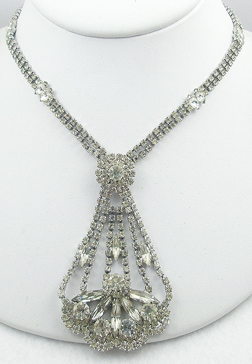 Newly Added Vogue Jewelry Rhinestone Necklace