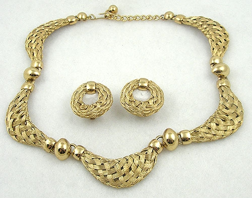 Newly Added Napier Doris Day Collection Necklace Set