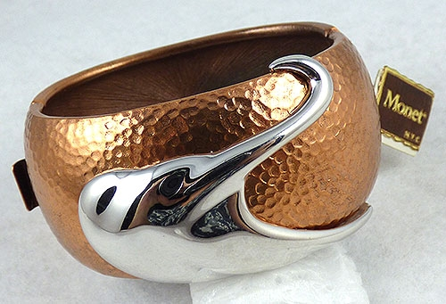 Newly Added Monet Copper Hinged Bracelet