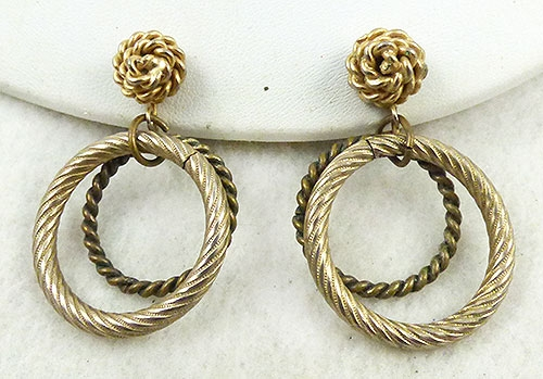 Newly Added Ben Reig Double Hoop Earrings